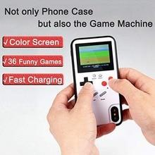 Klassische Retro Erinnerungen Display Game Telefon Fall Für Iphone 6 7 8 Plus Tpu Rahmen Gameboy Coque Für Iphone X xs Max Xr Funda Capa