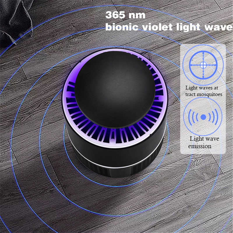 LED Mosquito Killer Lamps UV Night Light USB Indoor Electric Mosquito Repellent Killer Bug Zapper Mosquito Trap Lantern Lamp