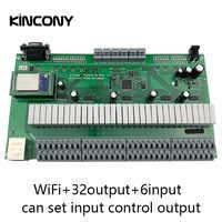 Kincony Domotica Hogar WiFi relé IP Módulo de automatización de domótica controlador 32 interruptor de Control canal 6CH Sensor de alarma de seguridad