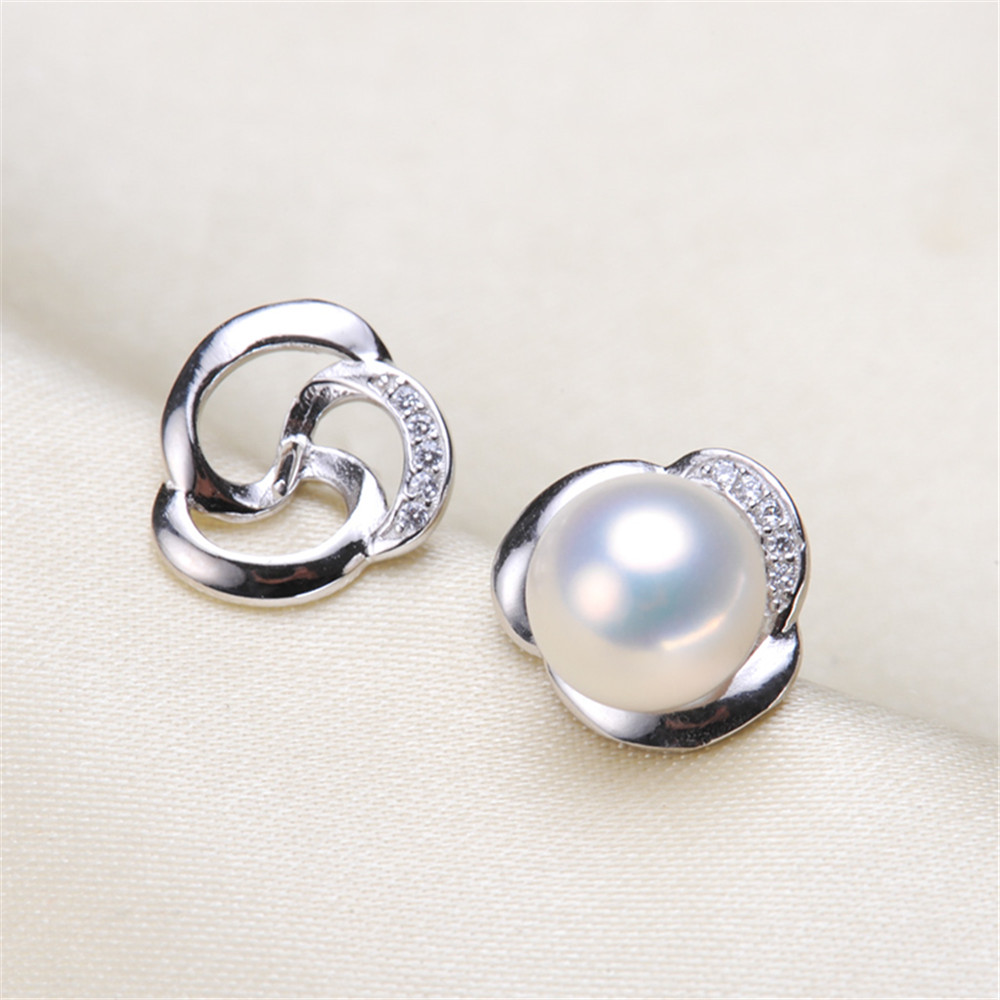 High Quality Pearl Earring Settings Earring Findings Jewelry Parts Fittings Jewellery Accessories No pearl