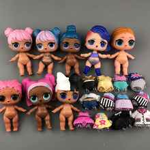 1pc dolls+1pc clothes original for lols serie boy Doll TOY Baby Dolls Action Fig