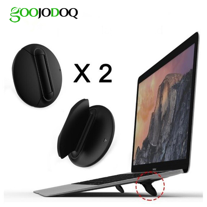 Laptop Vertical Stand Laptop Accessories Support Pc Portable for MacBook Air 13 case Notebook Stand for a Laptop Universal black image