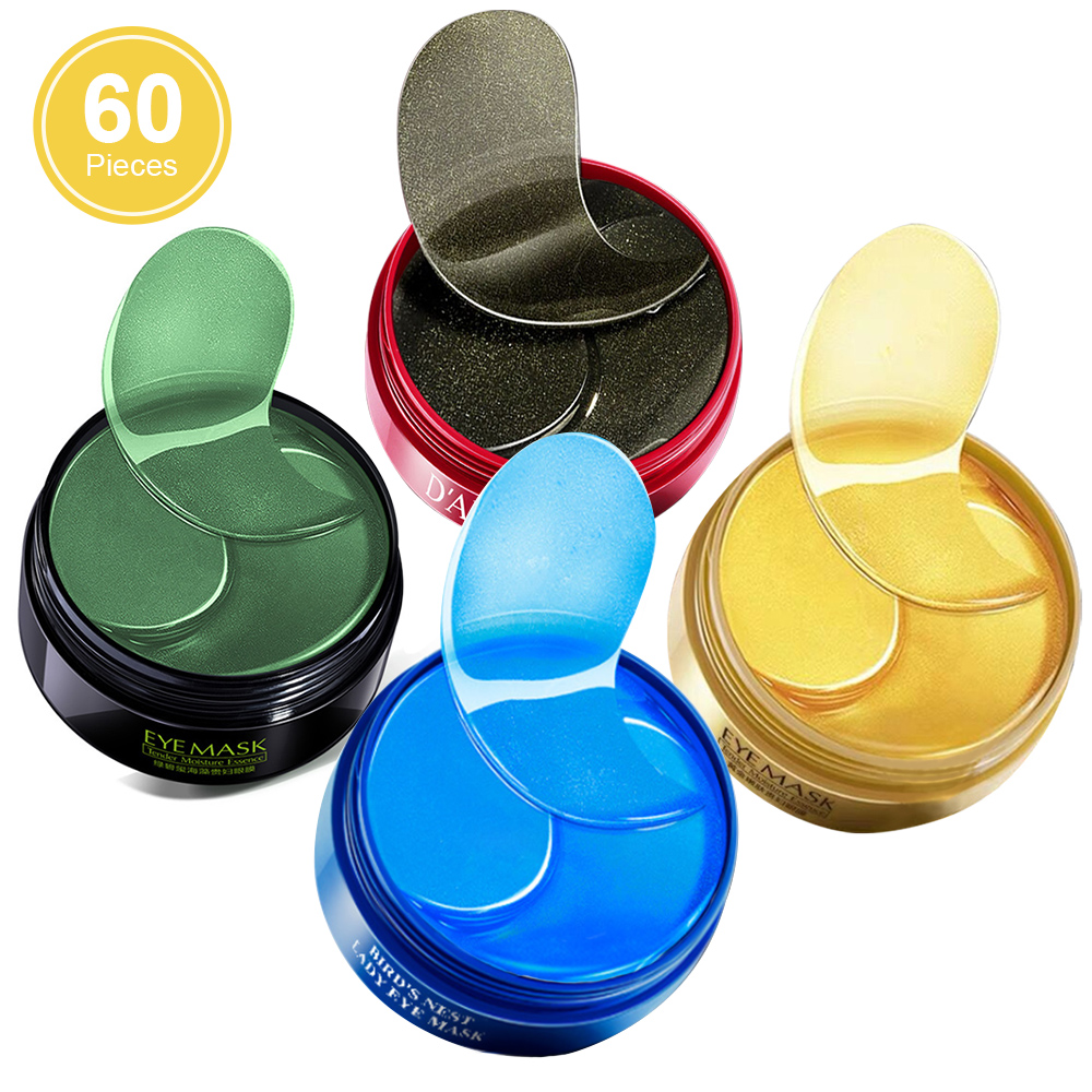 Gold Crystal Eye Mask 60Pcs Anti Wrinkle Collagen Eye Patches Eye Care Dark Circles Remove Eye Mask Gel Anti Aging Skin Care|Creams|   - AliExpress