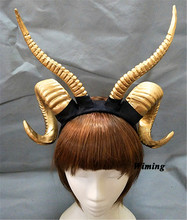 Legend horns Huge Bull Matador headband 3D cosplay comicon fantasy women girls party props