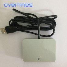 OYEITIMES MCR3512 2 in 1 kart okuyucu USB 2.0 ID 1/2FF 12 Mbps destek IC akıllı kart okuyucu 2G/3G/4G SIM kart okuyucu yazar