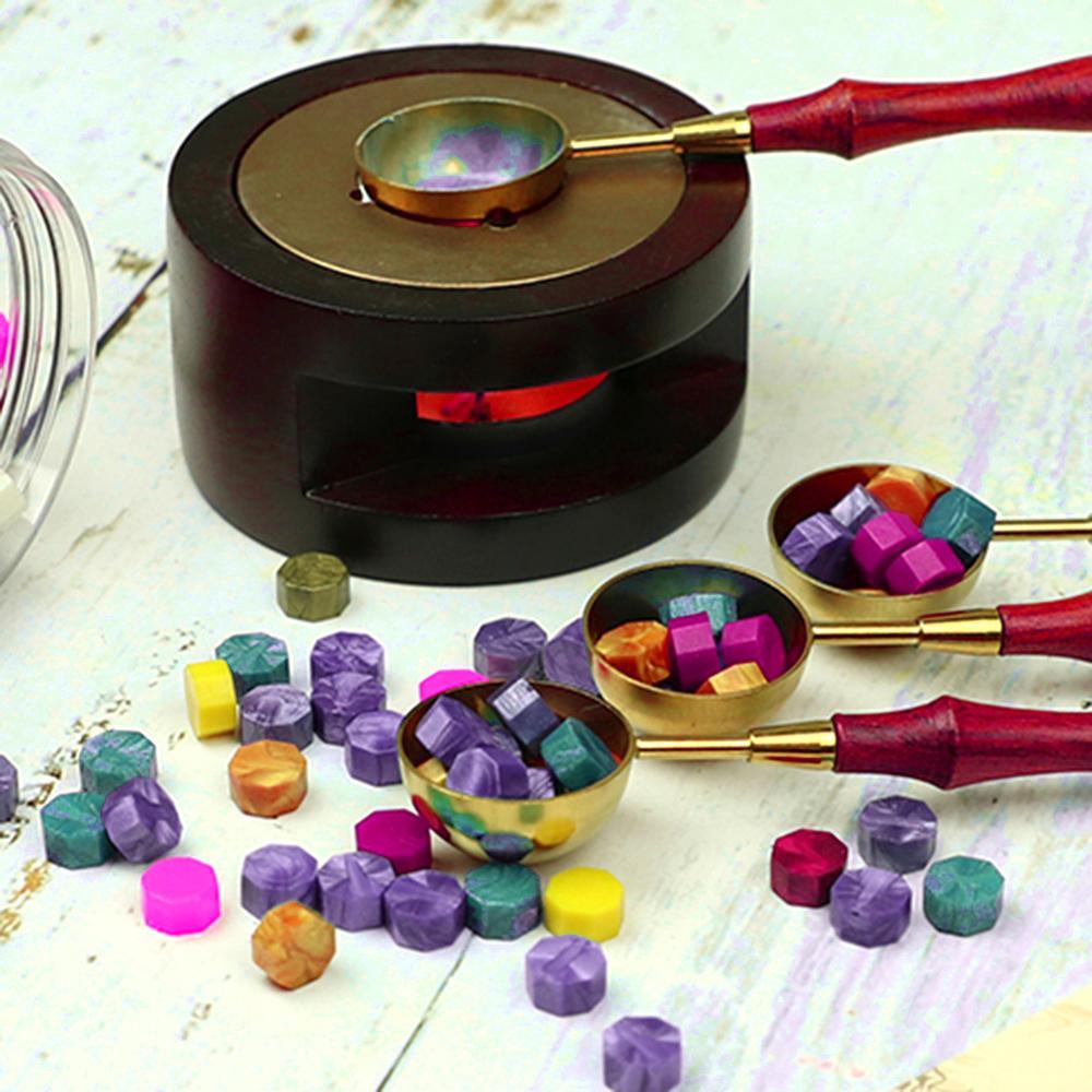 100pcs Sealing Wax Seal Stamp Tablet Pill Beads For Envelope Wedding Wax Seal Ancient Sealing Wax Making Tools