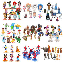 Disney Action Figure Frozen 2 COCO Moana the Lion King Toy Story 4 Princess Mickey Minnie Mouse Winnie The Pooh Toy For Children(China)