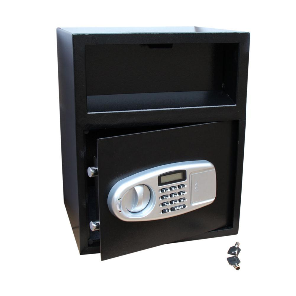 Deliver Type Digital Keypad Money Safe Box Caja Fuerte Safety Box With Screws Keys Black Protective Jewelry Case 45 X 36 X 30cm