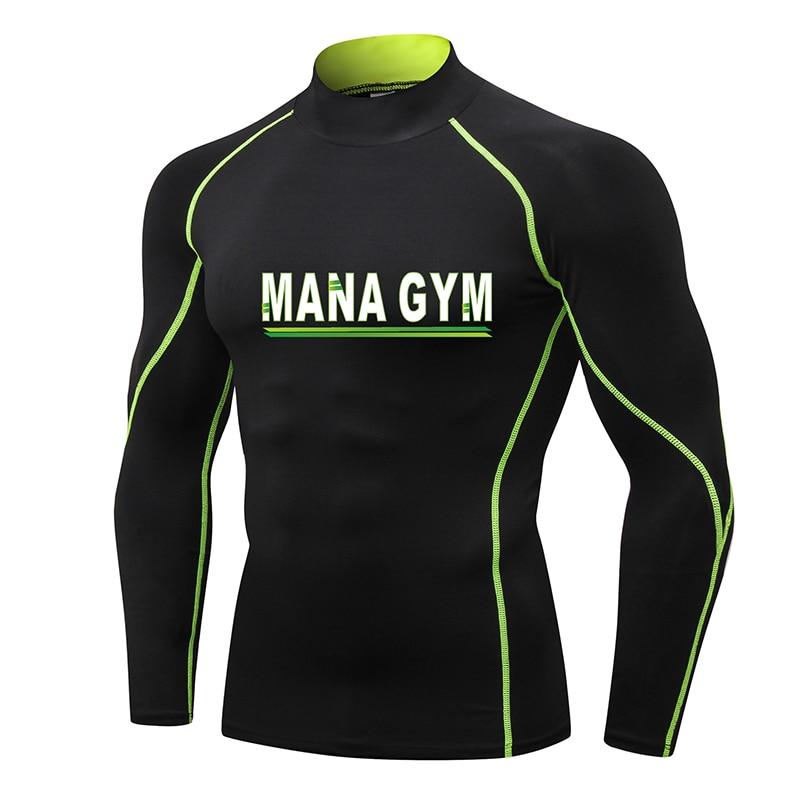 Design New Gym T Shirt Compression Bodybuilding Jogging Jersey Sport Shirt Men Outdoor Clothes Running Shirt Rashguard