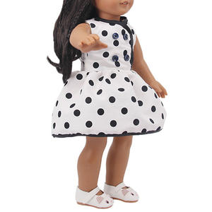 Doll Clothes For 18 Inch Doll& 43 Cm 15 Style Skirt With Patterns Born Doll For Generation Girl's Toy