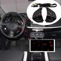 Interrupteur au volant radiocommande Audio droite pour Mitsubishi Lancer EX 10 Lancer X Outlander ASX Colt Pajero Sport
