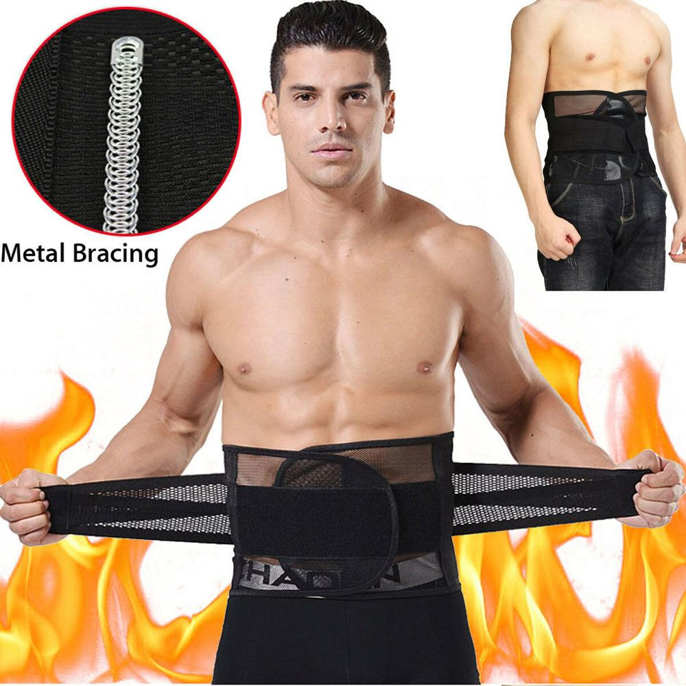 Men&Women Tummy Belly Abdomen Trimmer Body Slimming Waist Belt Fat Burner Shape Fashion Soft Wide Boucle Ceinture Homme Clasic