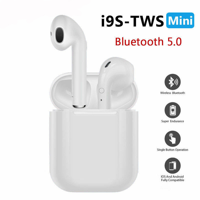 i9s tws original Wireless <font><b>Bluetooth</b></font> <font><b>earphones</b></font> Gaming Headsets Earbuds 5.0 earpieces For xiaomi iPhone Samsung pk i10 tws i12 i7s image