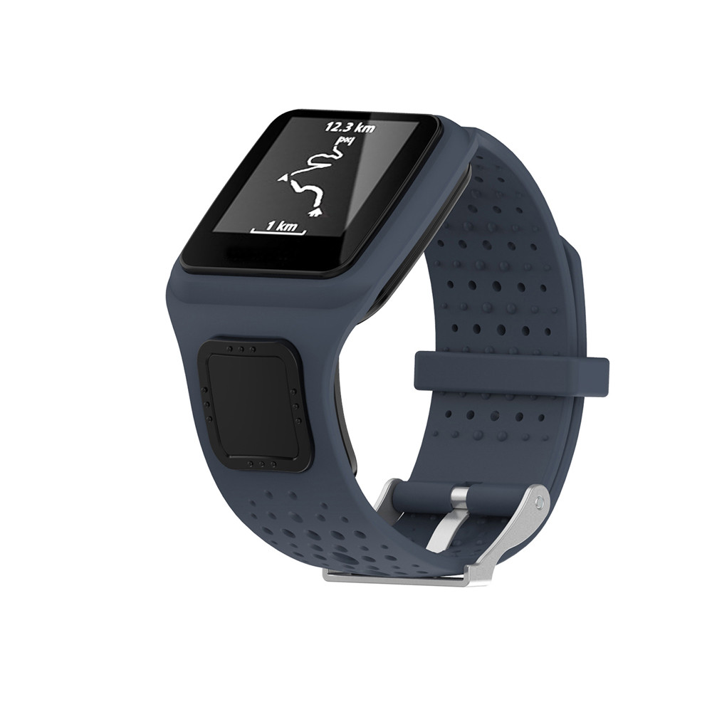 Watches Watchband Silicone Rubber Bands 2019 Newly Replacement Silicone Band Strap For TomTom Multi Sport / Cardio GPS Watch