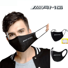 Respirator Face-Masks Anti-Dust-Mouth-Mask Washable Print Earloop Cycling Amg