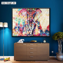 5D DIY Diamond Painting Animal Elephant Cartoon Painted Mosaic Embroidery Cross stitch Rhinestone Crafts home decor Gift