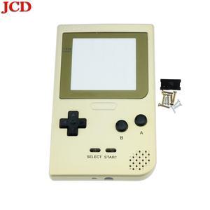Image 4 - JCD لتقوم بها بنفسك عدة شفافة الإسكان شل استبدال ل Gameboy جيب ل GBP الذهب قذيفة الإسكان مع أزرار لوحات مطاطية