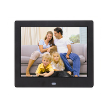 New 8inch Digital Photo Frame 4:3 Electronic Album Picture Music Video Clock Calender Full Function Home Baby Marry Wedding Gife 10 inch digital picture frame 1024x600 display electronic album photo music video clock calendar e book remote control gift