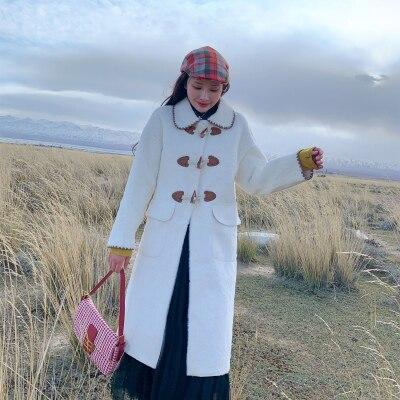 2019 New Style High-end Fashion Women Faux Fur Coat C30