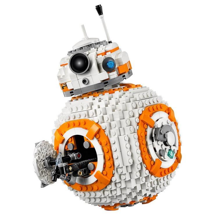 새로운 1238pcs Bb8 스타 워즈 로봇 세트 정품 호환 Lepining 시리즈 75187 75179 세트 빌딩 블록 벽돌 장난감 Starwars