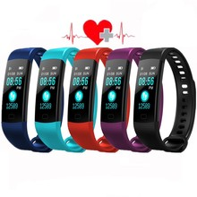 Y5 Smart band Heart rate Blood Oxygen Pedometer Sports Fitness Tracker Bluetooth Smart Bracelet fitness bracelet Health bracelet 2019 activity band smart wristbands sports bluetooth fitness tracker bracelet smart band smart bracelet health tracker