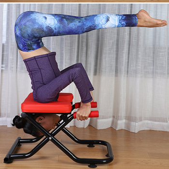 Multifunctional Foldable Yoga Stool Household Fitness Equipment Sports Auxiliary Inverted Chair Home Gym Balance Board
