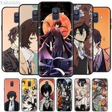 Bungo Stray Dogs Cases for Samsung Galaxy J8 J6 J4 Plus A9 A7 A8 A6 2018 M40 M20 M10 M30 S Black Silicone Soft Cover(China)