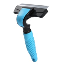 Pet Hair Remover Comb For Dog Cat Grooming Deshedding Tool Brush Deshedding Hair Removal Brush Trimmer Comb dog Hair cleaner double side pet fur dog brush comb rake hair brush cat grooming deshedding trimmer tool dog comb pet brush rake 12 23 blades