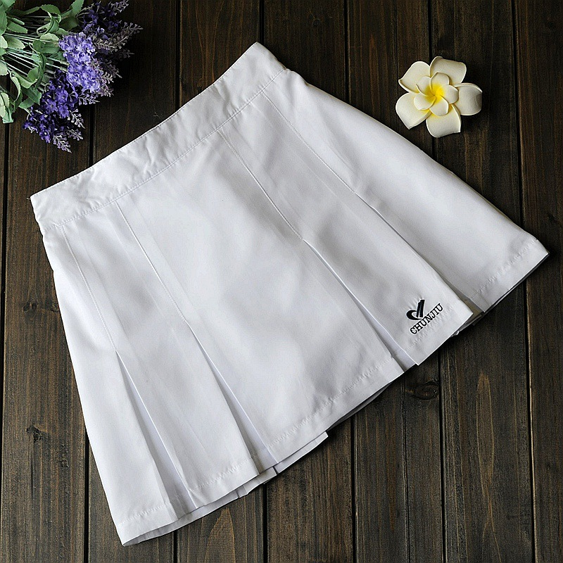 WOMEN'S Short Skirt Half-length Sports Culottes Tennis Culottes Culottes Square Dance Panties Cheerleading Costume MacBook Dress