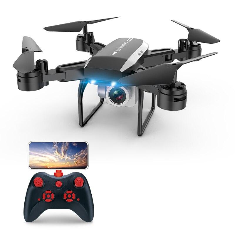 Plegable RC drone de helicópteros con cámara 5mp 16mp aérea-vida cuatro eje aeronaves de presión de aire fijo 4K juguete rc quadcopter