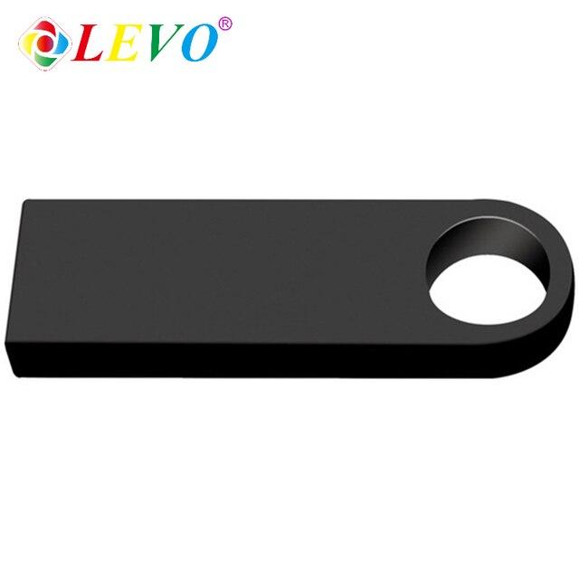 Sliver Golden metal pen drive 64GB USB Flash Drive 8GB 16GB 32GB 128GB memory stick flash card u disk 256gb PENDRIVE 3