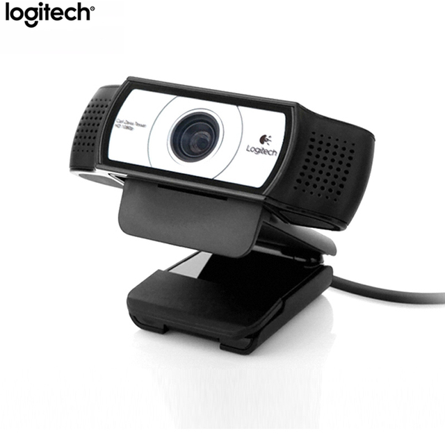 Logitech oryginalny C930c inteligentny aparat fotograficzny sieć nauczania 1080P pulpit Laptop wideo konferencja internetowa klasy kamera internetowa HD