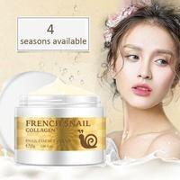 Snail Cream Hyaluronic Acid Moisturizer Anti Wrinkle Anti Aging Nourishing Serum Collagen Day Cream Skin Care