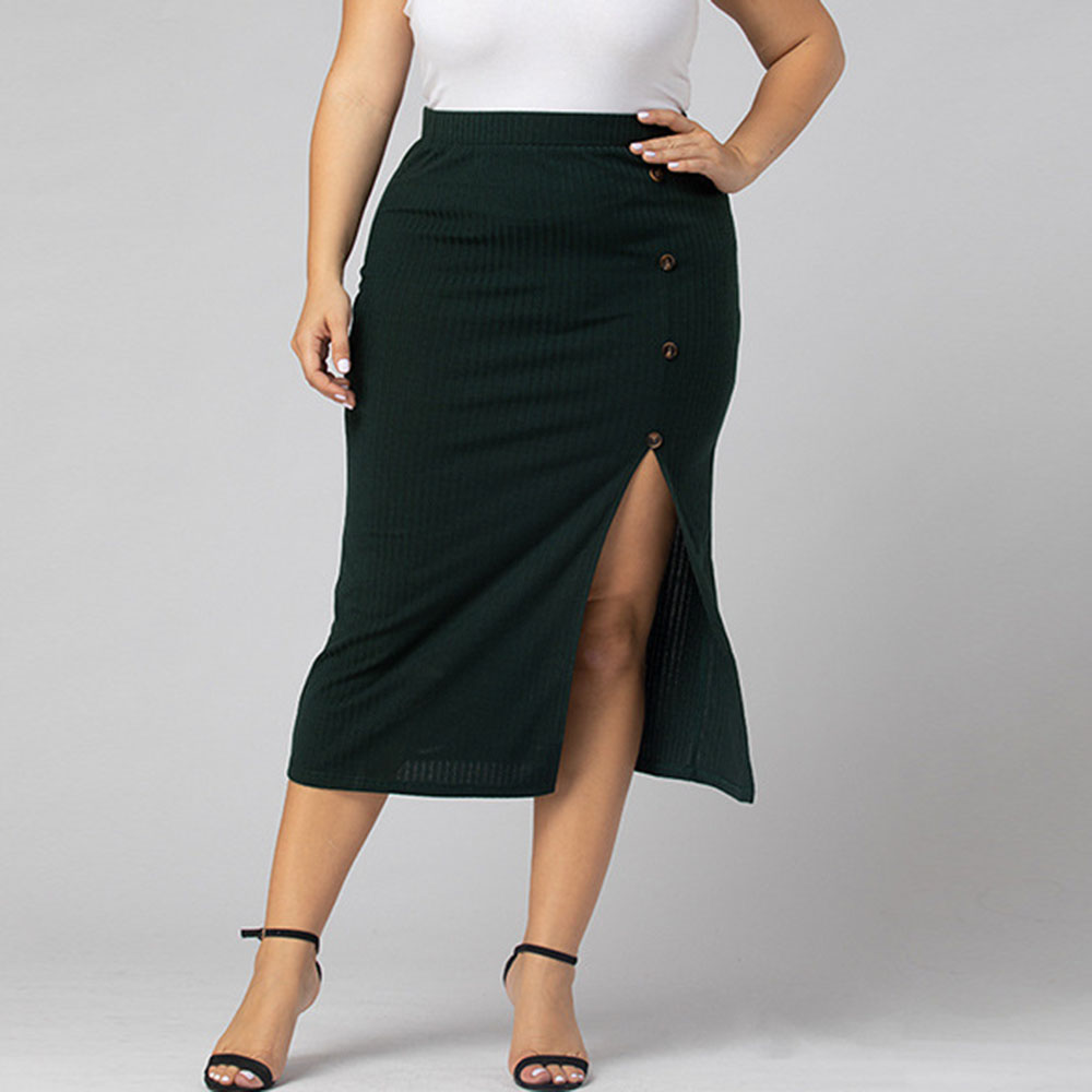 Women Casual Plus Size 3xl 4xl Skirt