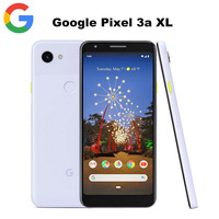 EU Version Google Pixel 3A XL 4G LTE Mobile Phone 6.0inch 4GB 64GB Snapdragon670 Octa Core 12.2MP NFC 3700mAh Android Smartphone