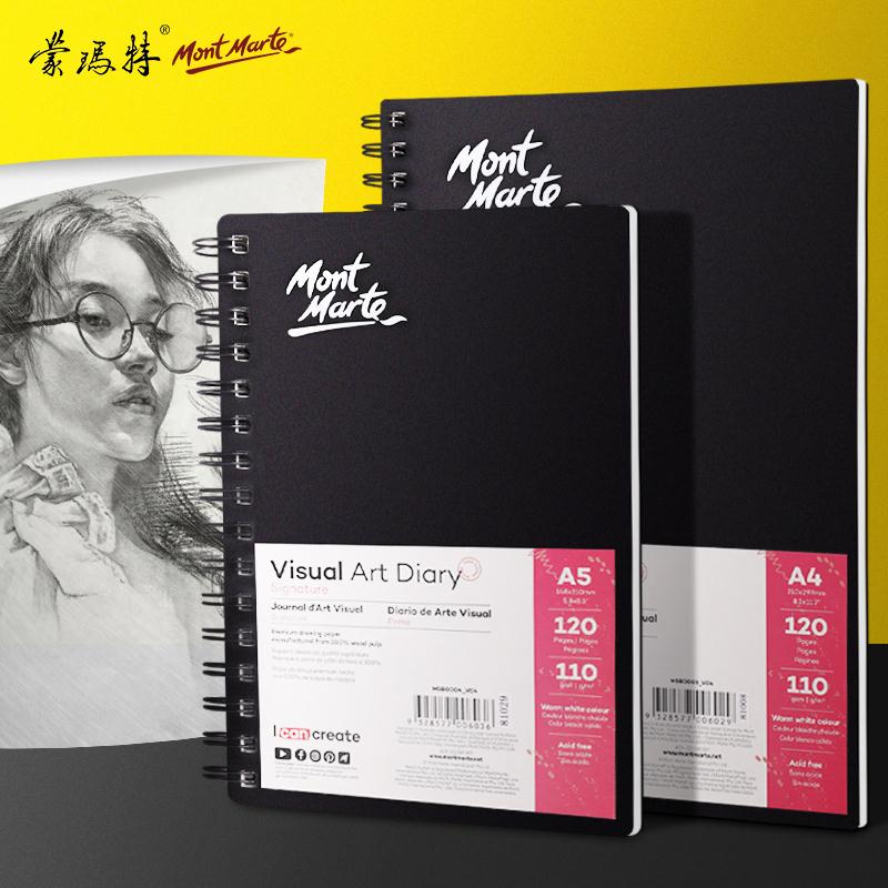 A3/A4/A5 Watercolor Paper Sketchbooks For Drawing Watercolour Sketchbook Artists Tracing Paper For Calligraphy Markers Painting