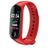 M3 Smart Band Wristband Heart rate/Blood/Pressure/Heart Rate Monitor/Pedometer Sports Bracelet M3 Health Fitness Bracelet Band