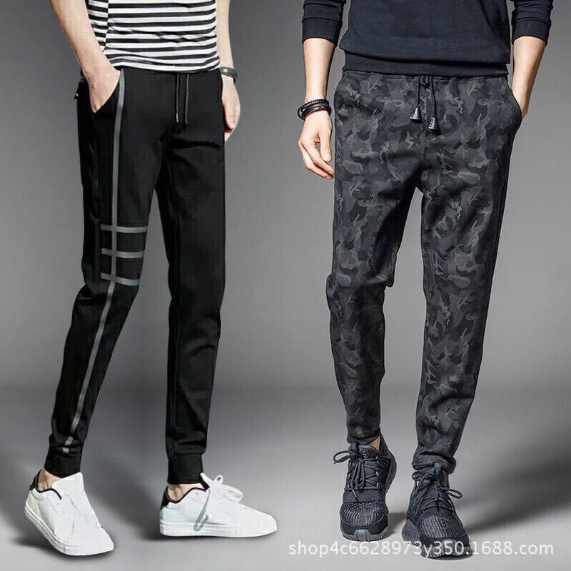 To Fight A Lot Of Supply Of Goods Spring And Summer New Style MEN'S Casual Pants Korean-style Students Athletic Pants Men's Teen