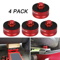 Hot New 4pcs Aluminum Solid Jack Lift Point Pad Adapter Jack Pad Tool Chassis Dedicated for Tesla Model 3 Car Accessories