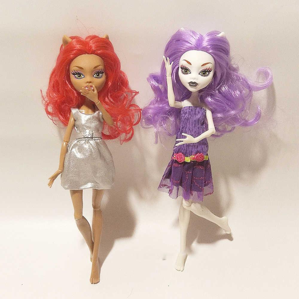 28 ซม.11 ตุ๊กตาของเล่นคุณภาพสูง BJD Ball ตุ๊กตาแฟชั่นของขวัญของเล่นสำหรับ Girls ตุ๊กตาเด็กส่ง ever After high Doll