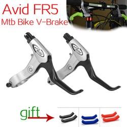 Avid FR5 Mtb Bike V-Brake Levers  Aluminum Alloy V-brake Disc Brakes Lever Mountain Bike Bicycle brake Handle Crank Black/white