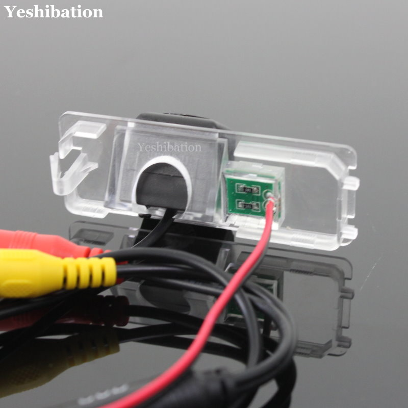 cheapest For SEAT Leon 1P MK2 5F MK3 2006  2015 HD Car Rear View Back Up Reverse Camera High Quality CCD Night Vision Reverse Camera
