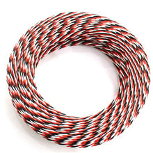 5M 22AWG/26awg 30/60 Core 3 Way Servo 16 Feet Extension Cable JR Futaba Twisted Wire Lead For RC Airplane Accessories
