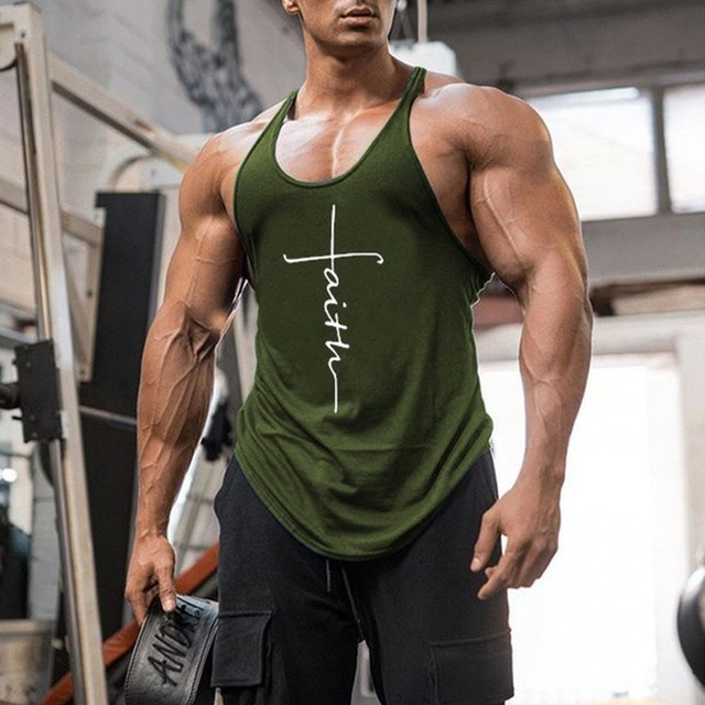 Gym Tank Top Men Fitness Clothing Mens Bodybuilding Tank Tops Summer Gym Clothing for Male Sleeveless Vest Shirts Plus Size 3
