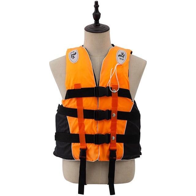 Adult Life Vest with Whistle M-XXXL Sizes Jacket Swimming Boating Ski Drifting Life Vest Water Sports Man kids Jacket Polyeste 1