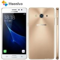 Samsung Galaxy J3 Pro, Оригинальный разблокированный мобильный телефон, 5,0 дюймов, 2 Гб ОЗУ, 16 Гб ПЗУ, четыре ядра, две sim-карты, 8МП камера, J3110, мобильный ...