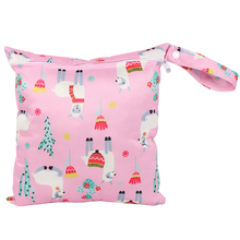 28--30cm Stroller-Bags Menstrual-Pads Maternity-Diaper Nursing Waterproof for PUL Snap-Handle