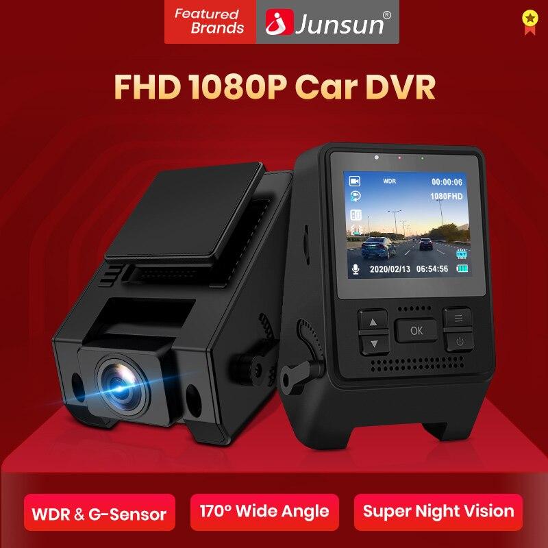 Junsun – caméra de tableau de bord automatique Q10, Full HD 1080P, caché, DVR, moniteur de stationnement 24H, enregistreur vidéo de voiture, Super Vision nocturne, Mini DVR