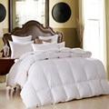 Роскошное зимнее стеганое одеяло из 100% утиного пуха/гусиного пуха  пуховое одеяло  хлопковое покрывало для близнецов