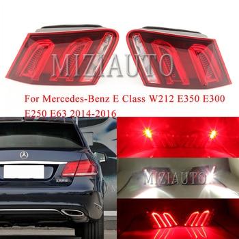 For Mercedes-Benz E Class W212 E350 E300 E250 E63 2014-2016 Inner side tail light Rear Brake Light Tail Stop Lamp turn signal led rear tail light for mercedes benz e class w212 2009 2013 sedan rear bumper brake light tail stop turn signal warning lamp